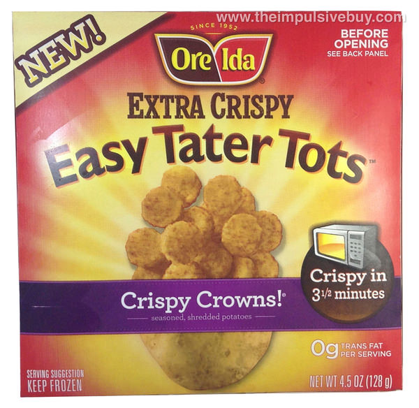 Ore Ida Extra Crispy Fast Food Fries Review
