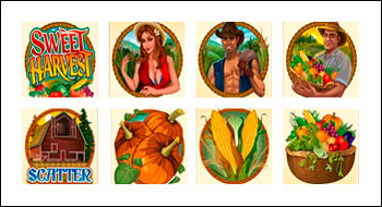 free Sweet Harvest slot game symbols