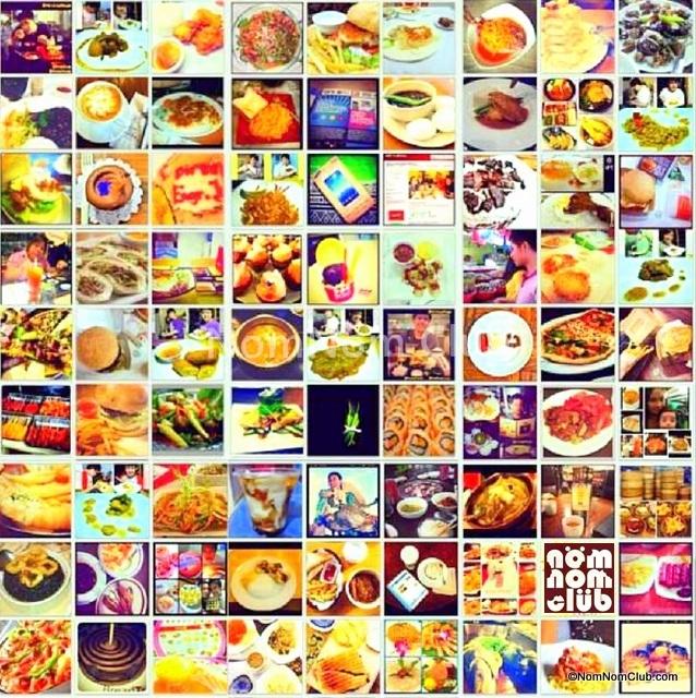 Some of the 150++ Samsung #GalaxyMega #NomNomClub Food-Photo Challenge Instagram Entries