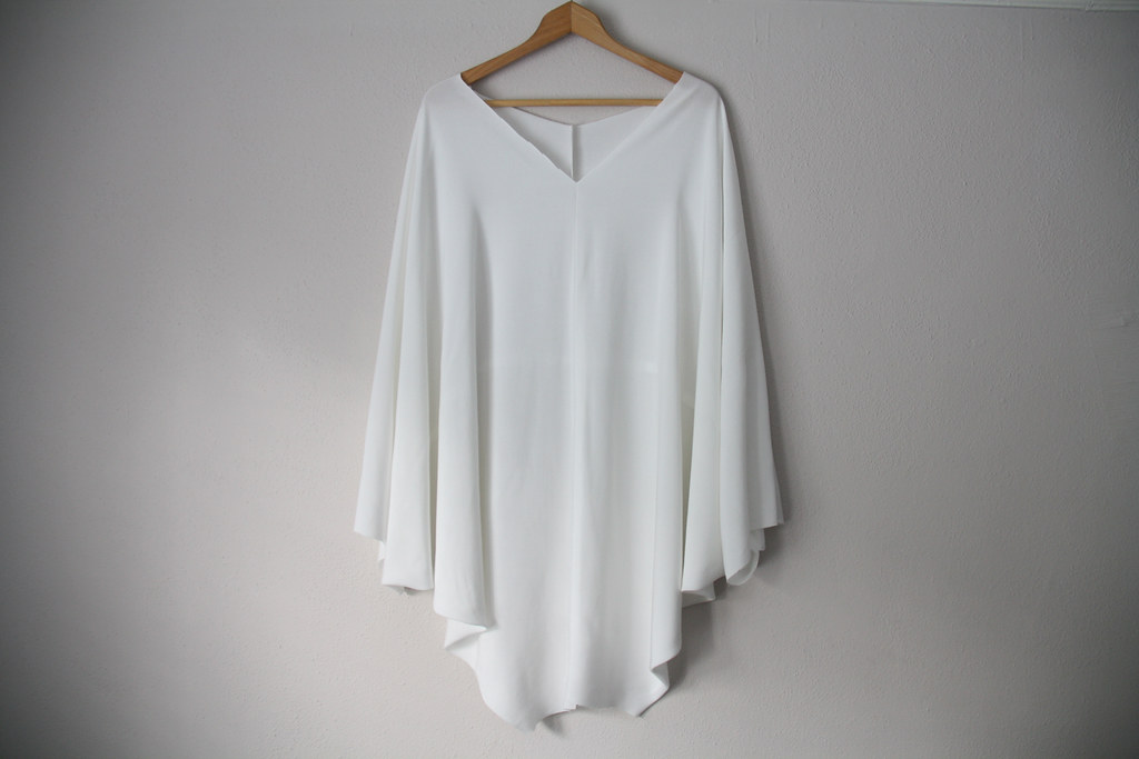 weekend diy: batwing dress