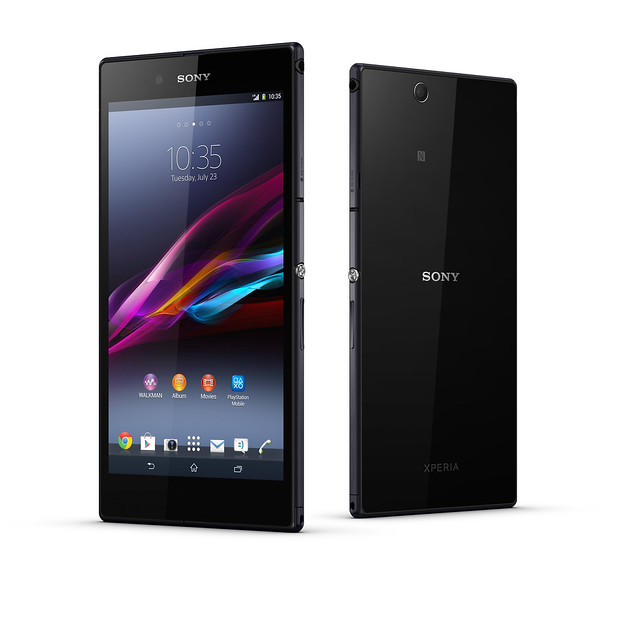 Sony Xperia Z Ultra Press Render