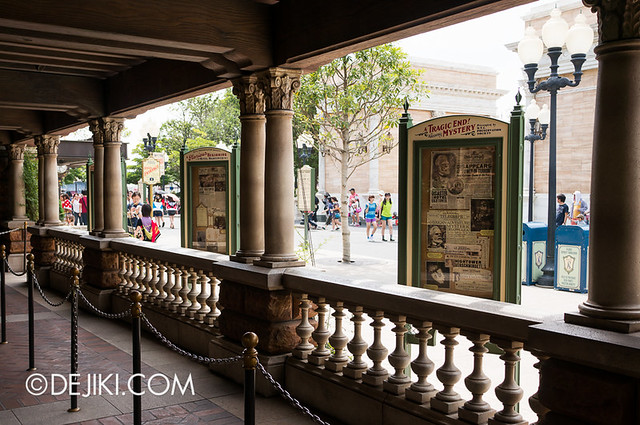 Tokyo DisneySea - Tower of Terror / Outdoor queue