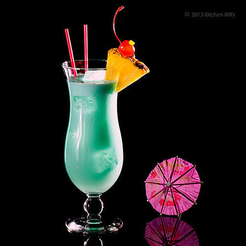 kitchen riffs the blue hawaii cocktail. Black Bedroom Furniture Sets. Home Design Ideas