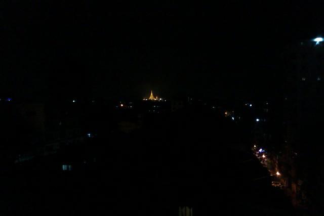 Schwedagon Pagoda Faraway