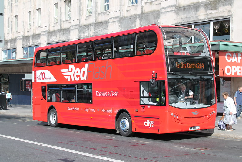 Plymouth Citybus 508