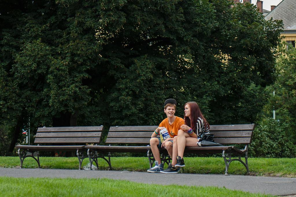 נוער בפארק Prague