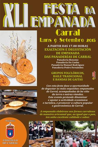 Carral 2013 - XLI Festa da Empanada - cartel