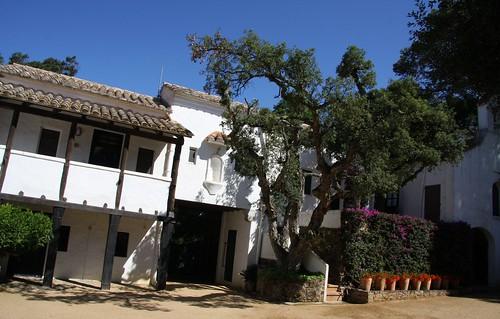Edificio entrada botánico Cap Roig