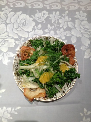Fennel and Orange Salad with a Lemon-Ginger Vinaigrette Dana