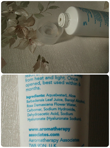 Ingredients Aromatherapy Associates Hydrating Rose Face Mask