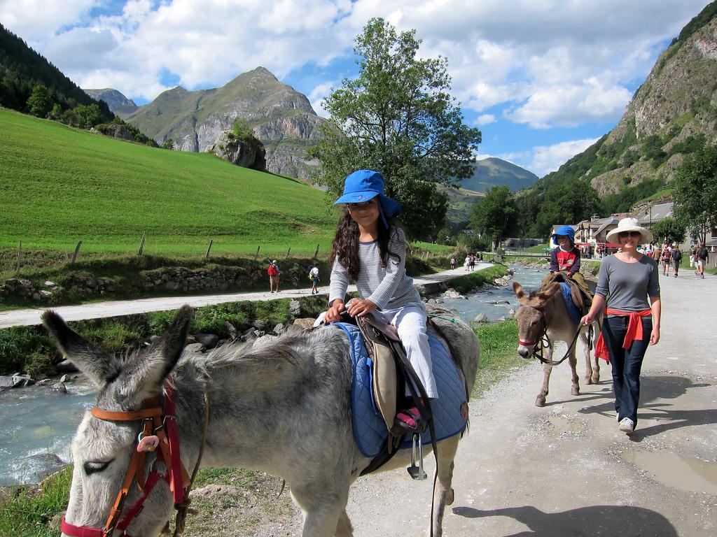 17. El típico paseo en burro por el valle de Gavarnie. Autor, Reuben Cleetus