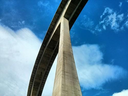 Montabliz highway bridge