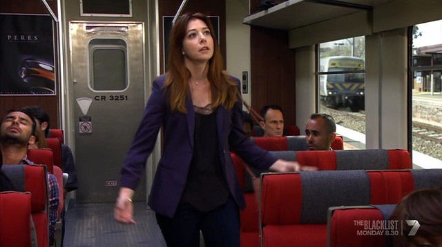 Melbourne Comeng Connex train in How I Met Your Mother