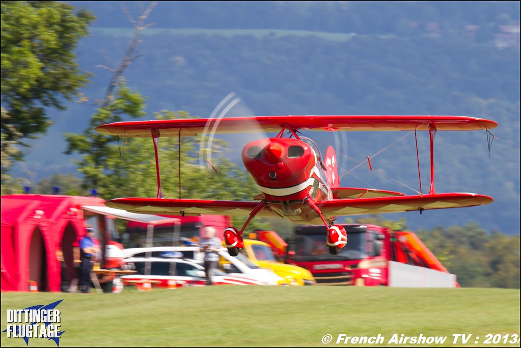 Pitts Special S1s at Dittinger Flugtage 2013