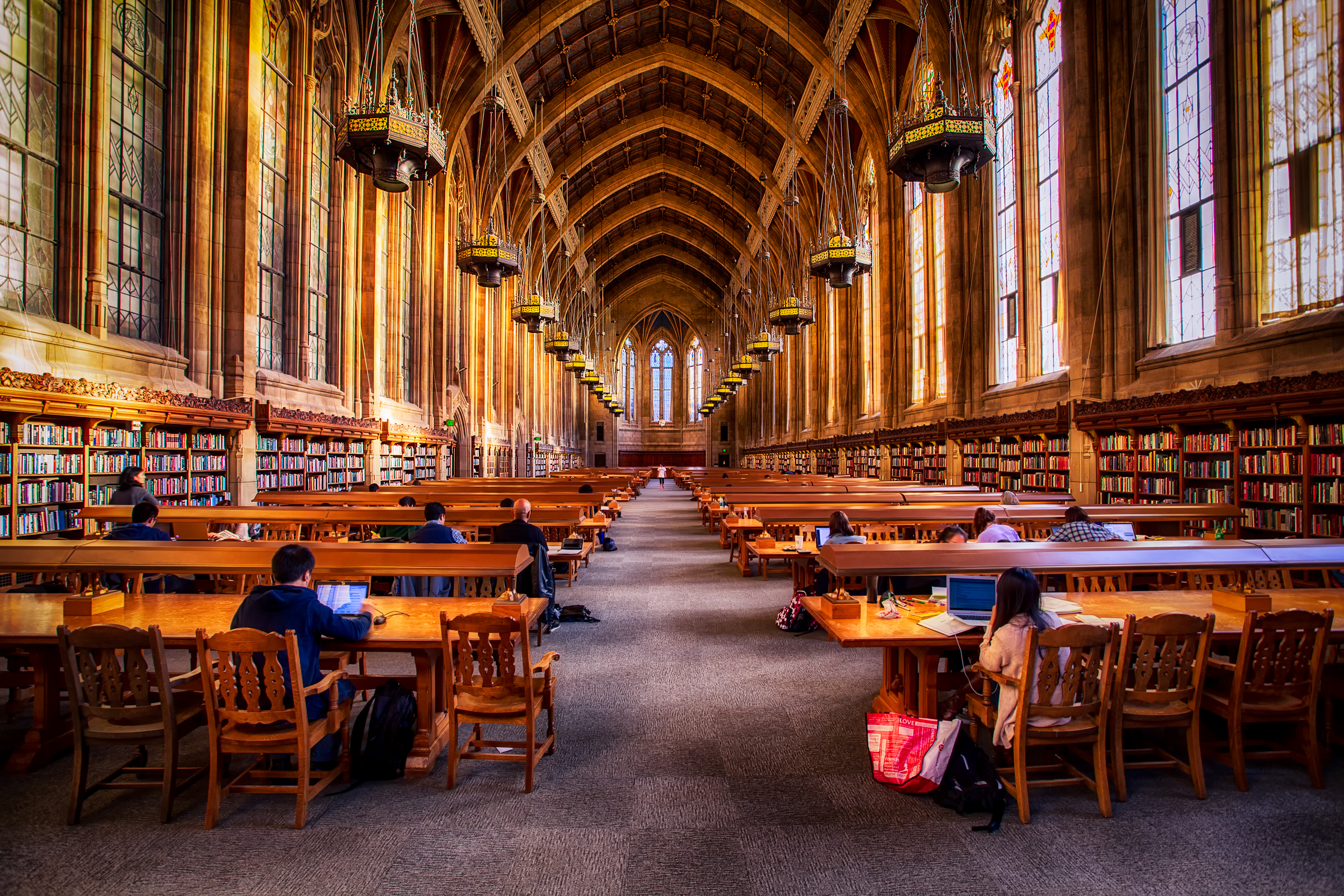 Library Room Fairfield U