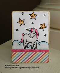 Rainbow Unicorn Mini card