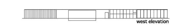 Photo:aat + Makoto Yokomizo - 富弘美術館 Tomihiro Art Museum - Drawings 08 - 西向立面圖 West Elevation By 準建築人手札網站 Forgemind ArchiMedia