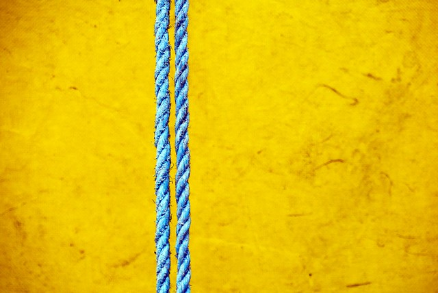 ❘❘ — untitled in blue and yellow