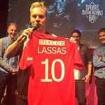 @pegefs vastaanotti Fredrik Lassaksen pelipaidan Sports Barin galleriaan! #HIFKfotboll @hifkedustus #hifk #casinohelsinki #casinosportsbar #veikkausliiga
