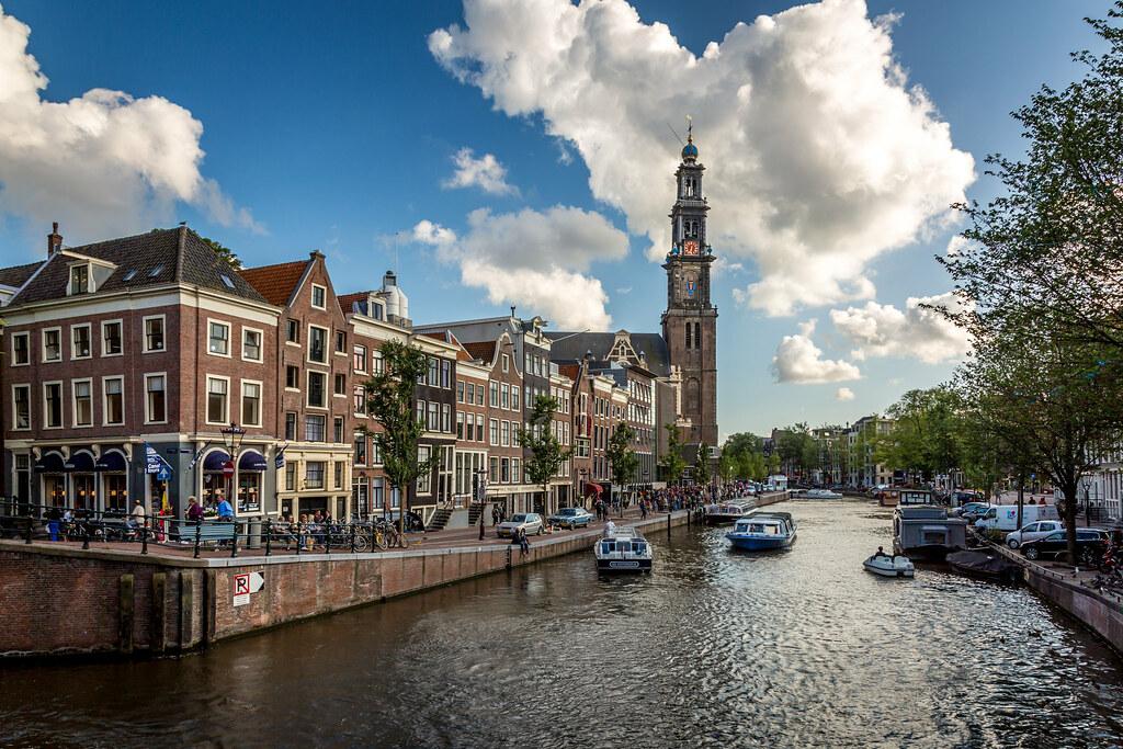 Prinsengracht South to Westerkerk