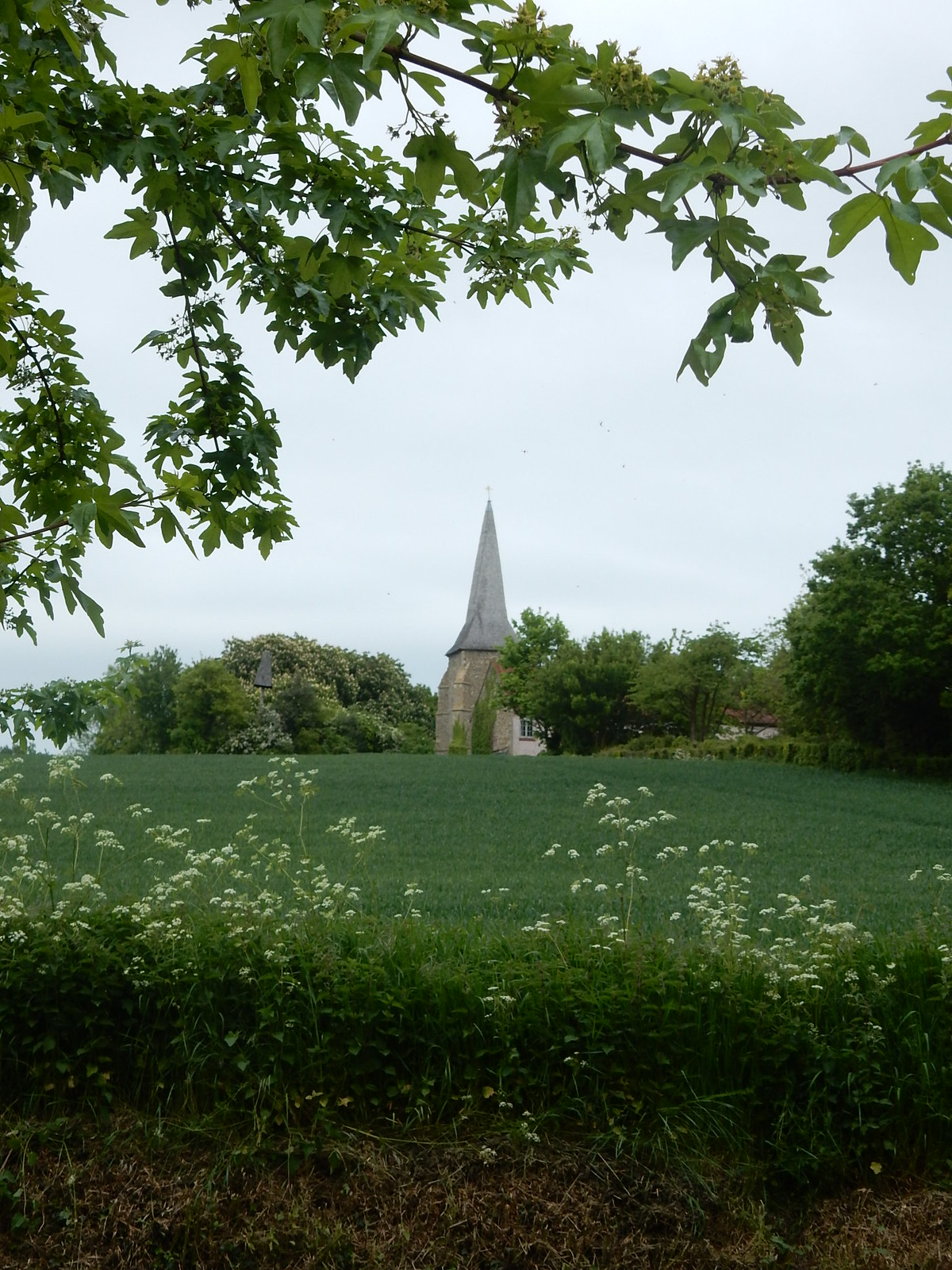 Great Henny church Bures to Sudbury