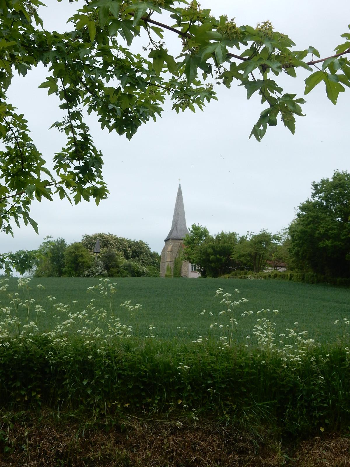 Great Henny church Bures to Sudbury