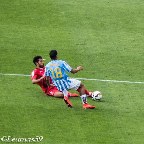 Partido Málaga - Sevilla 23/5/2015
