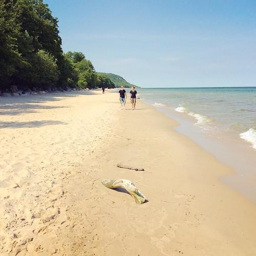 Thailand? No. This beach is in Sweden.