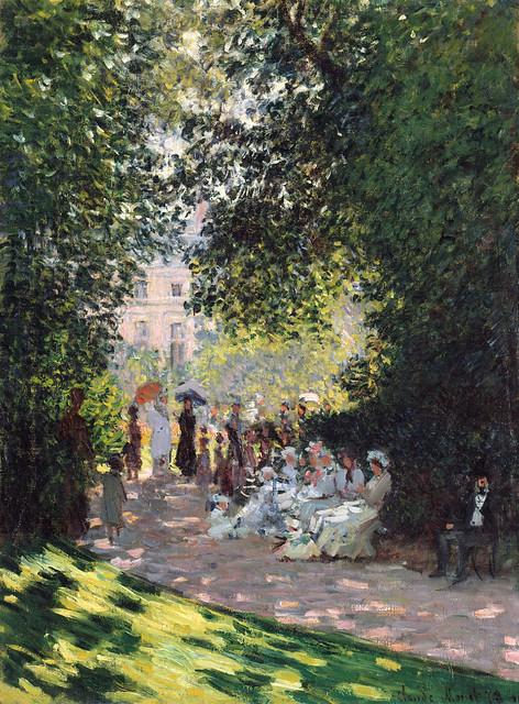 Claude Monet - The Metropolitan Museum of Art 59.142. The Parc Monceau (1878)