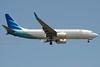 Garuda Indonesia Boeing 737-8U3/WL PK-GMW