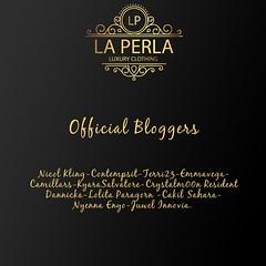 Official Bloggers LA PERLA