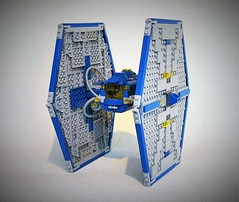 Classic space Tie fighter MOC
