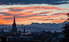 Sunrise over Bern