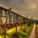 HDR OLD TRAIN  the long way begin here by aminekaytoni