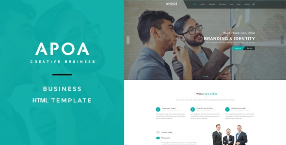 Apoa v1.0 - Business HTML Template