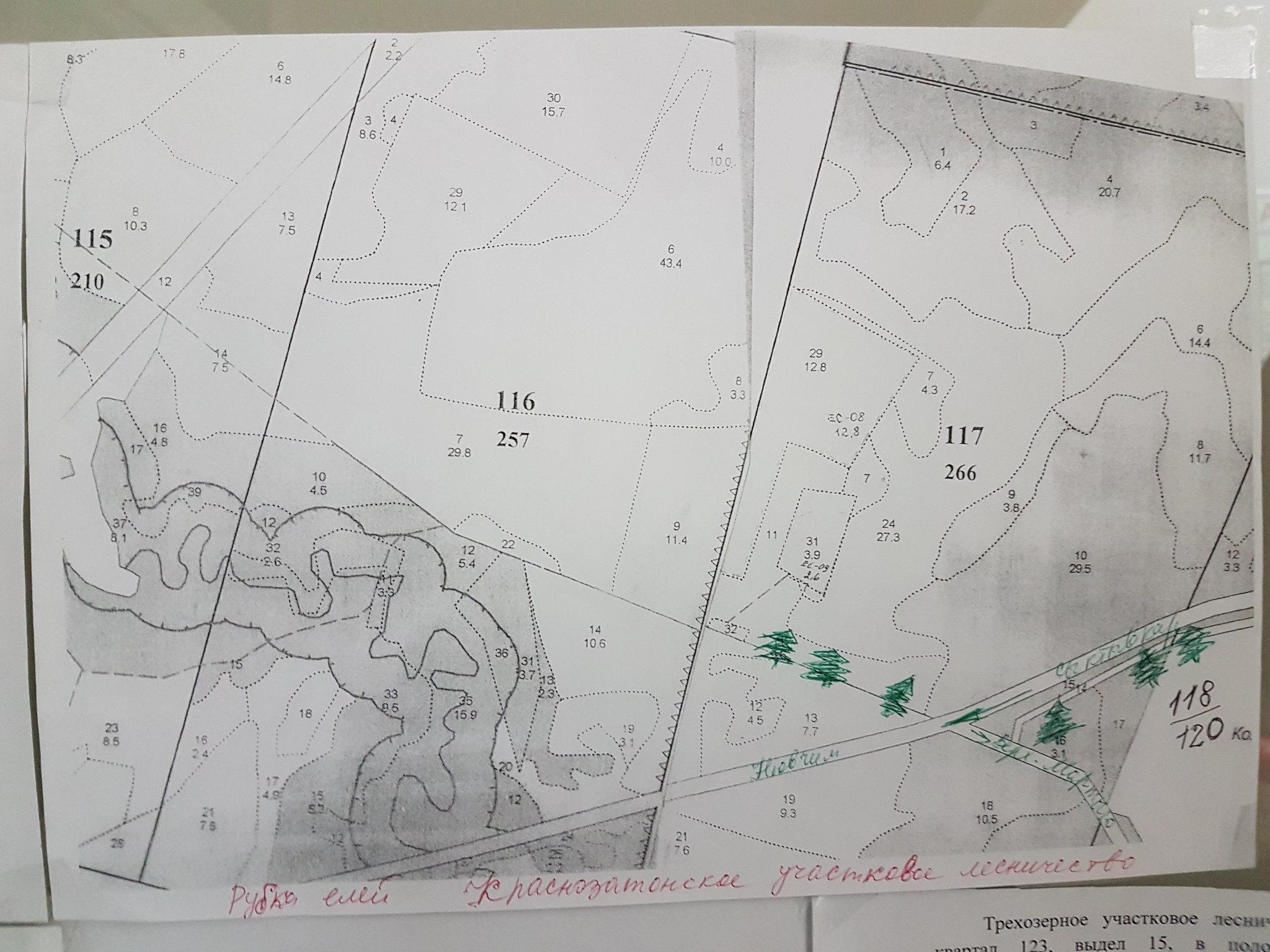 Карта ели Мыртыю