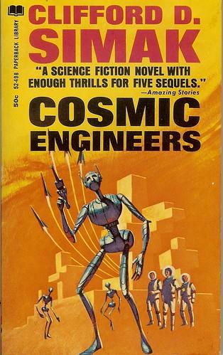 Cosmic Engineers - Clifford D. Simak - cover artist Jack Gaughan