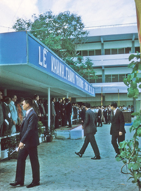 Saigon 1971 - Lễ khánh thành Trường Công tác Xã hội