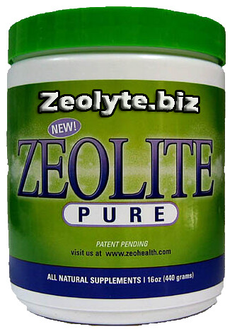 Zeolit - Clinoptilolite Radiation heavy metal detox