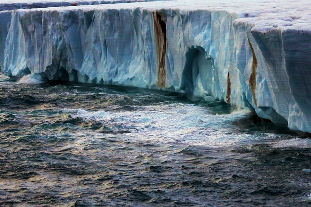 Brasvellbreen - Glacier Wall