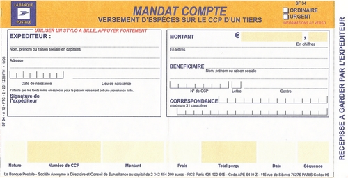 MANDAT-COMPTE