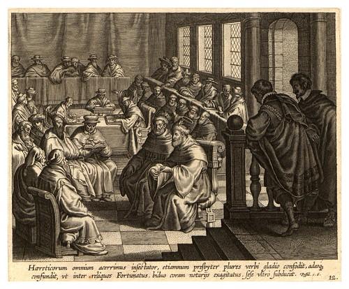 010-Iconographia magni patris Aurelli Augustini…1624-Grabados de Boetius Bolswert- Cortesia de Villanova University