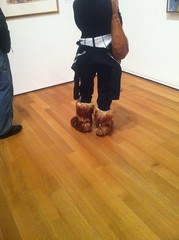Yak Boots at MoMA