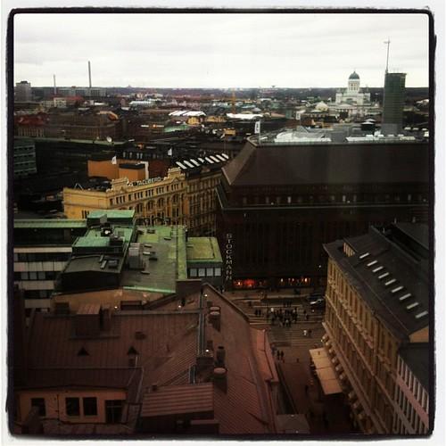 Rooftops of #Helsinki