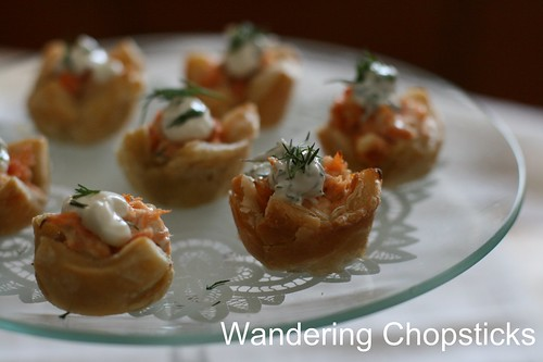 Salmon and Dill Mini Tarts 11