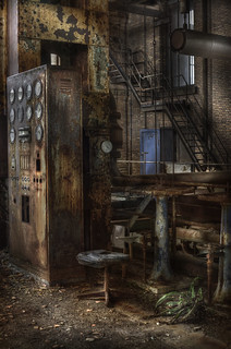 Abandoned power plant  ::  ( explore )