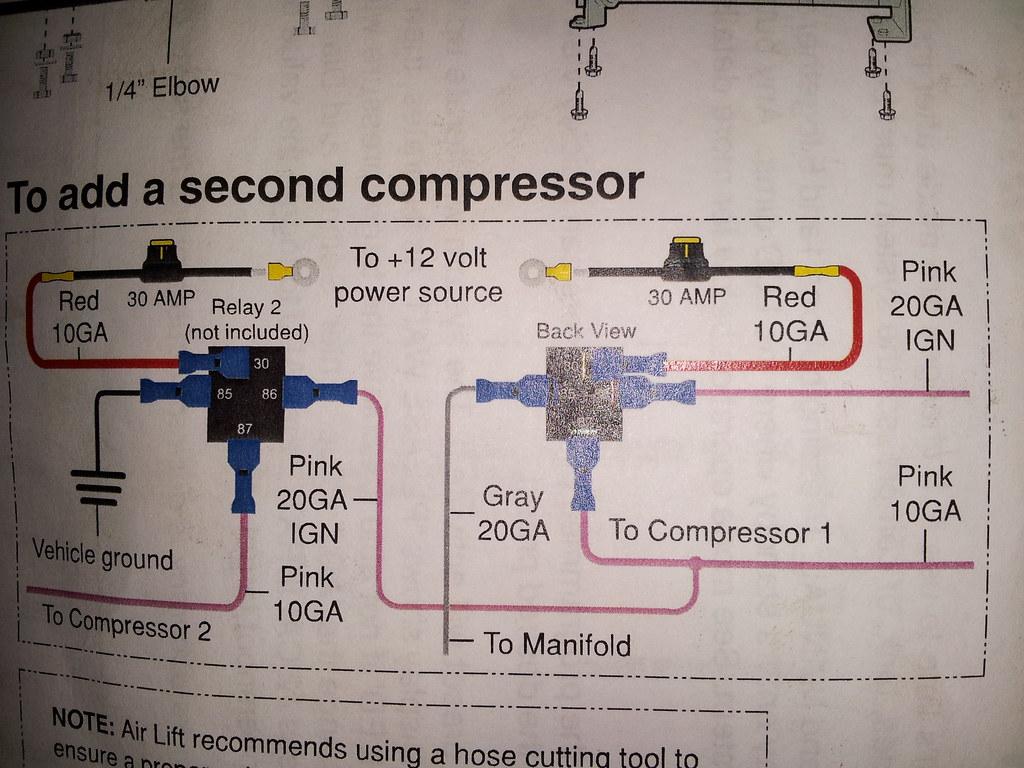 vwvortex com adding a second compressor with autopilot v2 revised rh forums vwvortex com Guitar Wiring Schematics Electrical Schematic