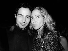 Zac Posen and Susan Kirschbaum at Zac's holiday party at Mr H at the Mondrian hotel. GAVIN DOYLE_1500_0_resize_90
