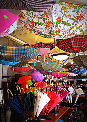 5-12-12 Umbrellas on a Sunny Day by roswellsgirl