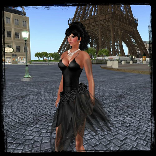 :: PurpleMoon :: Malena Dress in Black by Cherokeeh Asteria